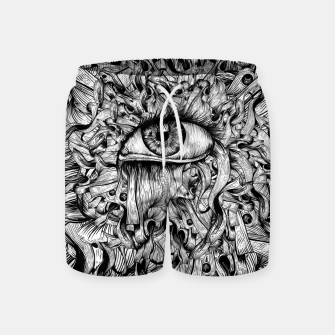 Thumbnail image of Inked Eye Swim Shorts, Live Heroes