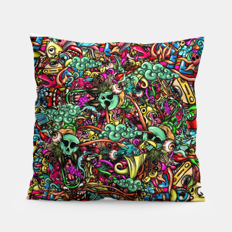 more Doodles Pillow Bild der Miniatur