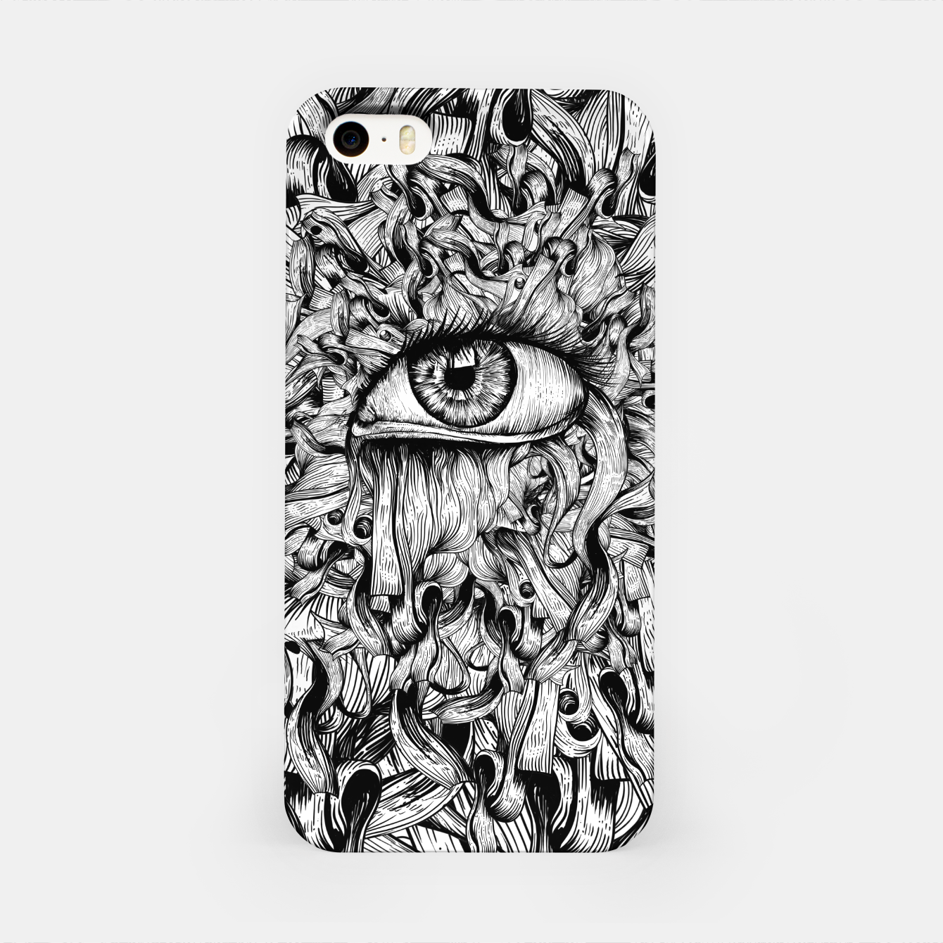 Foto Inked Eye iPhone Case - Live Heroes