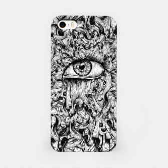 Inked Eye iPhone Case Bild der Miniatur