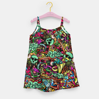 Miniature de image de more Doodles Girl's dress, Live Heroes