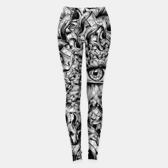 Thumbnail image of Inked Eye Leggings, Live Heroes