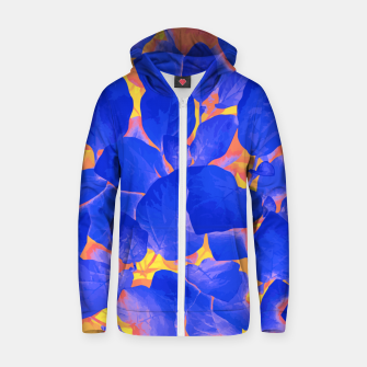 Thumbnail image of Supercontrast Zip up hoodie, Live Heroes