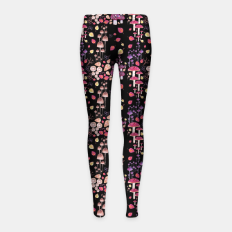 Thumbnail image of Autumn Night Girl's leggings, Live Heroes