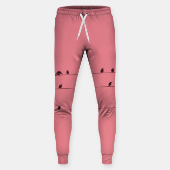 Thumbnail image of Birds and wires Sweatpants, Live Heroes