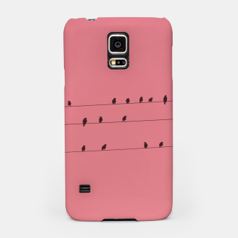 Thumbnail image of Birds and wires Samsung Case, Live Heroes