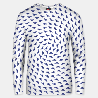 Blue butterflies in the swarm Unisex sweatshirt thumbnail image