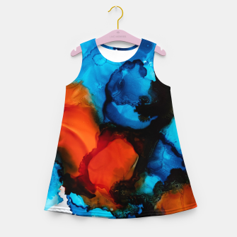 Thumbnail image of Scintillating Deceit Girl's summer dress, Live Heroes