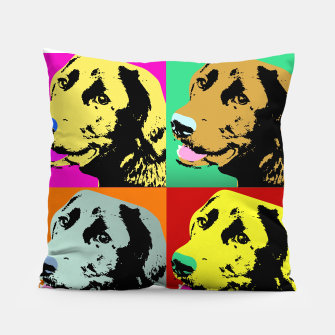 Pop Art Labrador Retriever Pillow thumbnail image