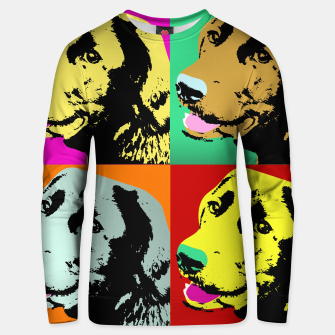 Pop Art Labrador Retriever Unisex sweater thumbnail image