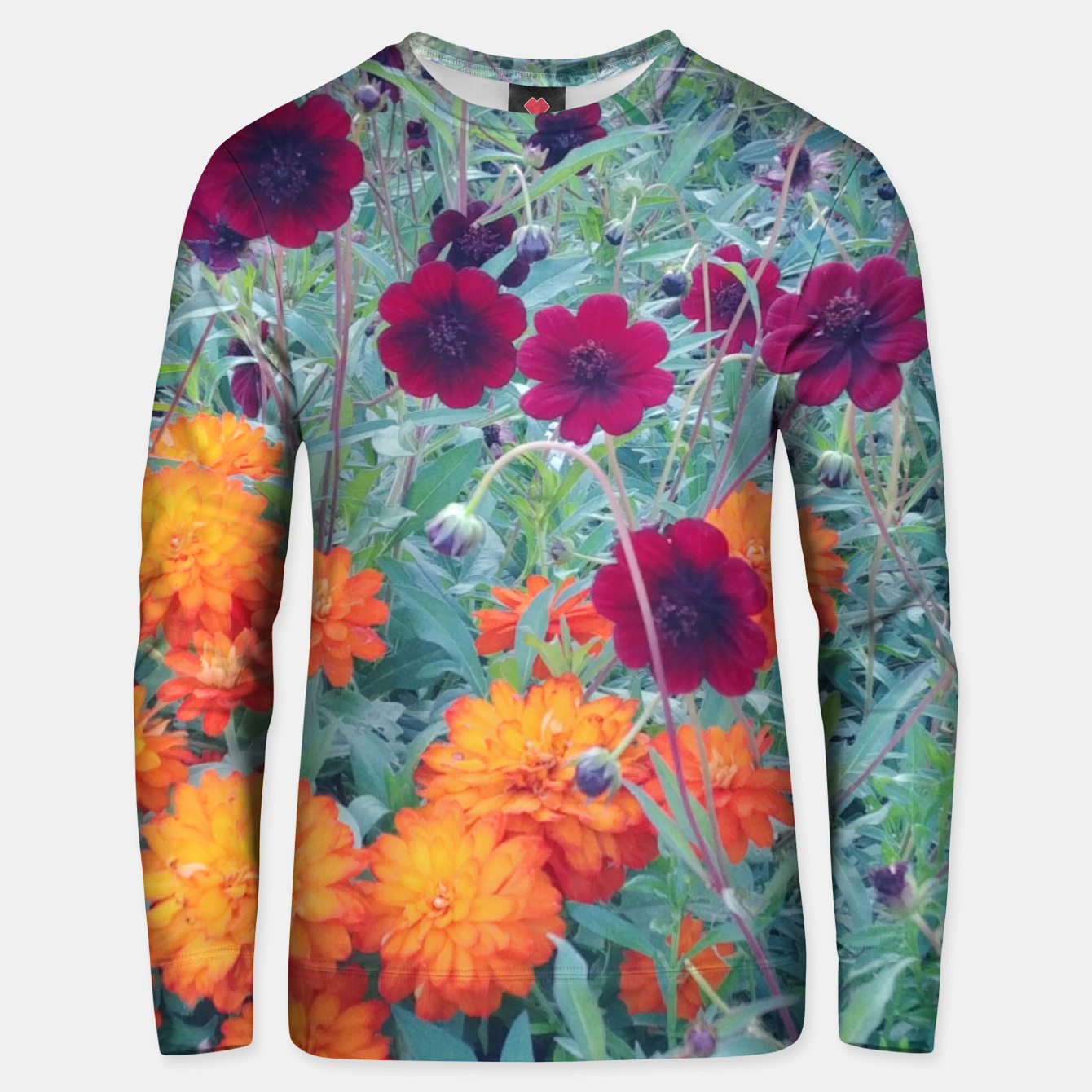Image of  autumn flowers Bluza unisex - Live Heroes