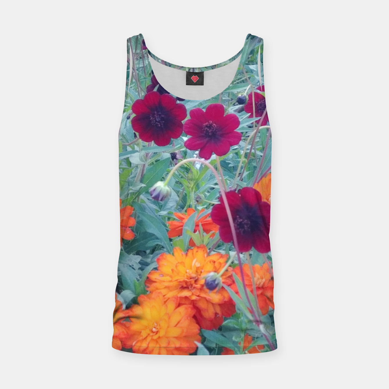 Image of  autumn flowers Tank Top - Live Heroes