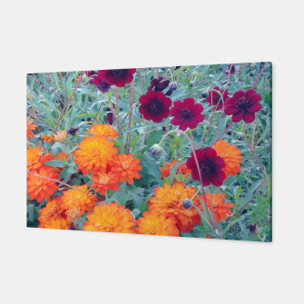 autumn flowers Canvas thumbnail image