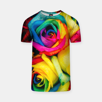 Thumbnail image of Roses Colors  T-shirt, Live Heroes