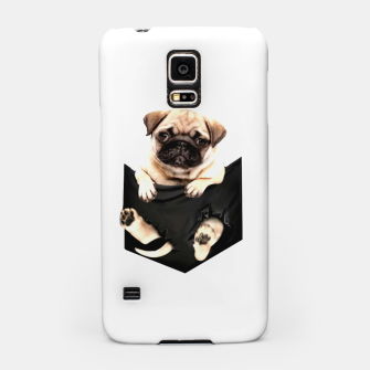 Miniatur Pug Puppies Cute Best Dog Pocket New Design Women Men Girls Accessories Gift Samsung Case, Live Heroes