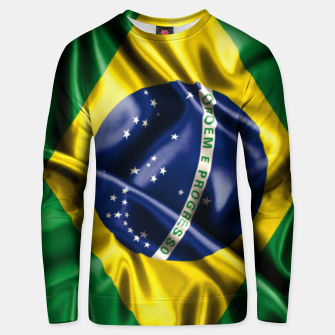 Thumbnail image of Brazilian Flag Green Yellow Bleu Brazil Unisex sweater, Live Heroes