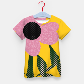 Thumbnail image of Sahara Street Poppie Kid's t-shirt, Live Heroes