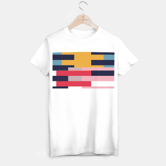 Miniatur Sahara Street Stripes T-shirt regular, Live Heroes