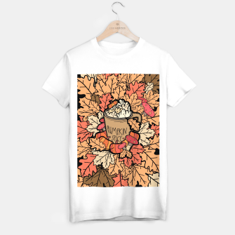 Thumbnail image of Pumpkin spice coffee T-shirt regular, Live Heroes
