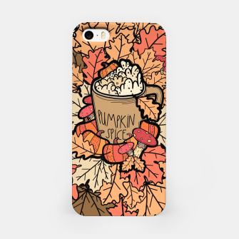 Thumbnail image of Pumpkin spice coffee iPhone Case, Live Heroes