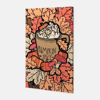 Miniature de image de Pumpkin spice coffee Canvas, Live Heroes