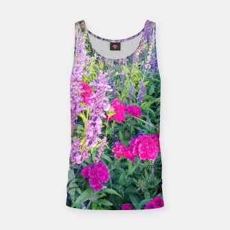 Thumbnail image of sunny flowers Tank Top, Live Heroes