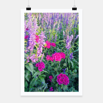 Thumbnail image of sunny flowers Plakat, Live Heroes