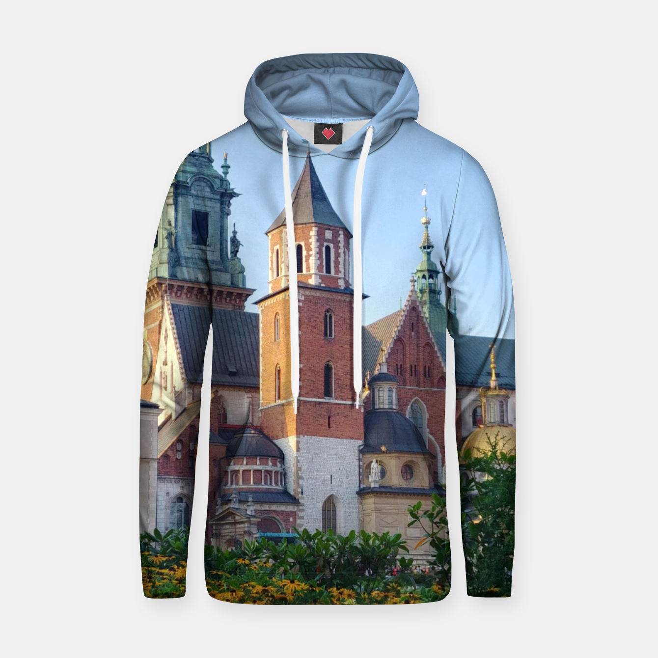 Image of Wawel in flowers Bluza z kapturem - Live Heroes