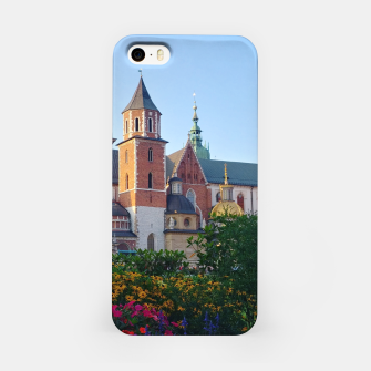 Wawel in flowers Obudowa iPhone thumbnail image