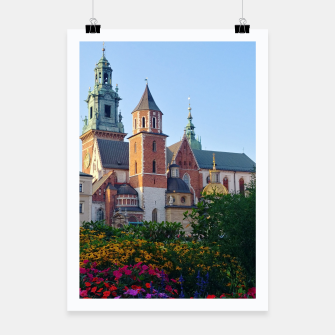Thumbnail image of Wawel in flowers Plakat, Live Heroes