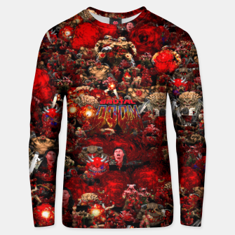 Thumbnail image of Brutal DooM Unisex sweater, Live Heroes
