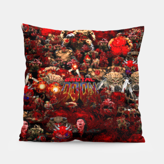 Thumbnail image of Brutal DooM Pillow, Live Heroes