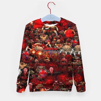 Thumbnail image of Brutal DooM Kid's sweater, Live Heroes
