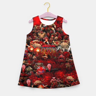 Thumbnail image of Brutal DooM Girl's summer dress, Live Heroes