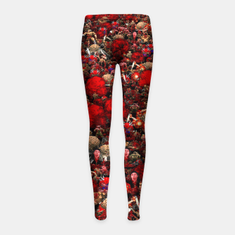 Thumbnail image of Brutal DooM Girl's leggings, Live Heroes