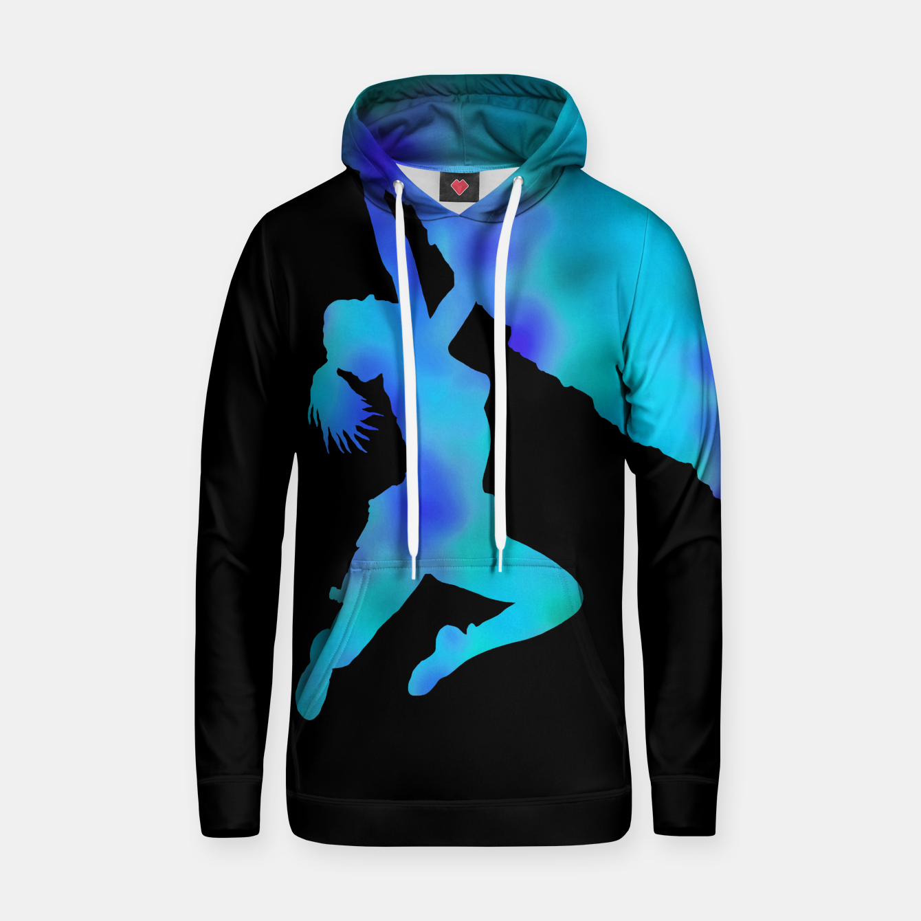 Image of bouldering ecstacy hoody - Live Heroes