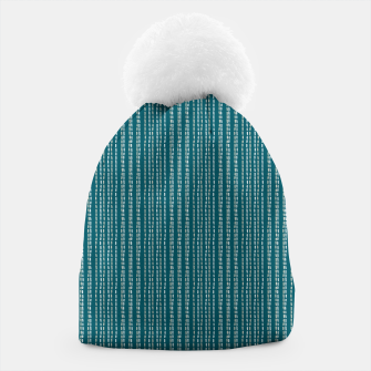 Thumbnail image of Strokes Pattern Beanie, Live Heroes