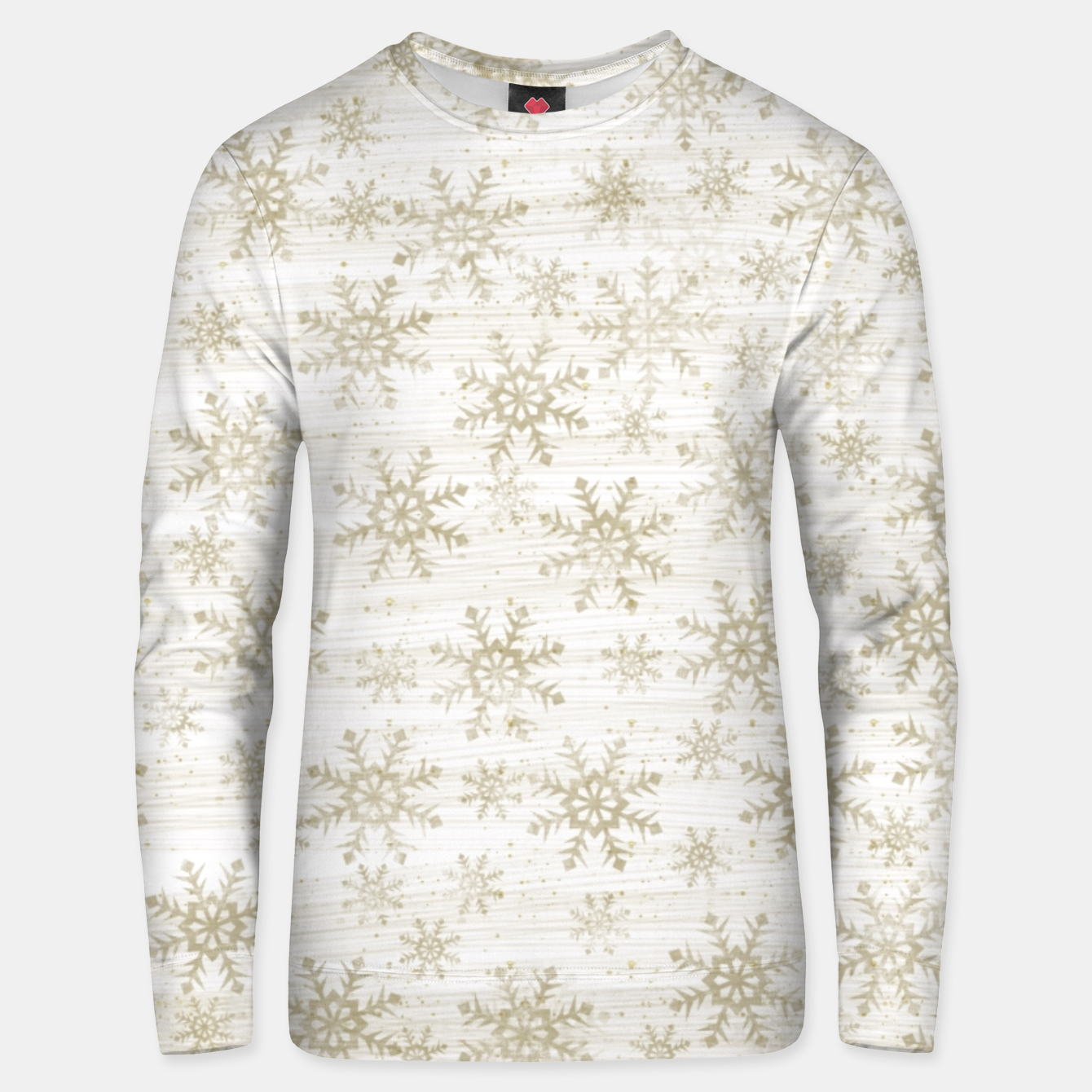 Image of Golden Snowflakes  Unisex sweater - Live Heroes