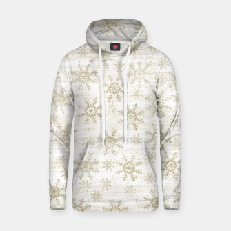 Thumbnail image of Golden Snowflakes  Hoodie, Live Heroes