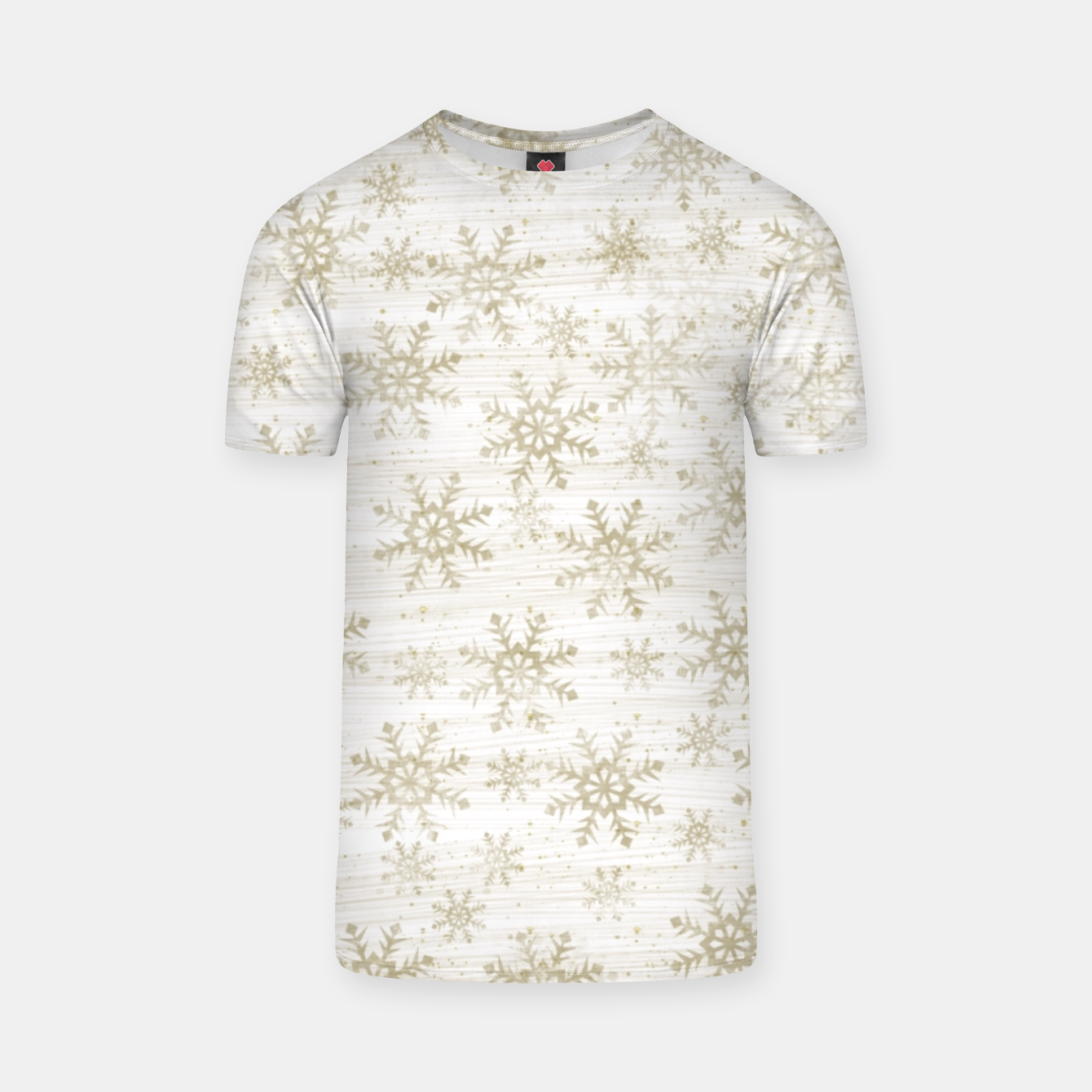Image of Golden Snowflakes  T-shirt - Live Heroes