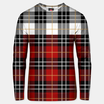 Miniatur Checkered multicolor Winter Design  Unisex sweater, Live Heroes