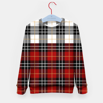 Miniatur Checkered multicolor Winter Design  Kid's sweater, Live Heroes