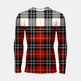 Thumbnail image of Checkered multicolor Winter Design  Longsleeve rashguard , Live Heroes