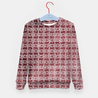 Thumbnail image of Snowflakes on kopper Background  Kid's sweater, Live Heroes