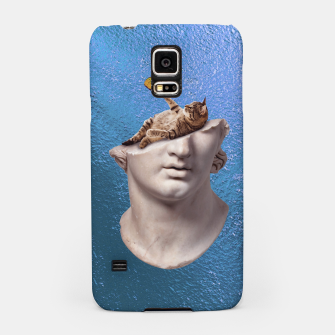Thumbnail image of Blue Samsung Case, Live Heroes