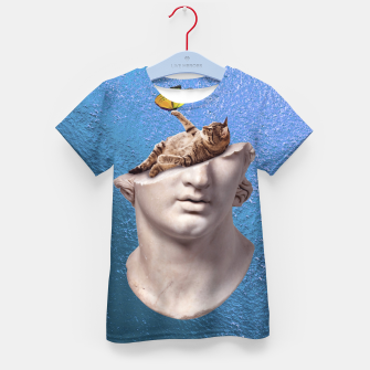 Thumbnail image of Blue Kid's t-shirt, Live Heroes