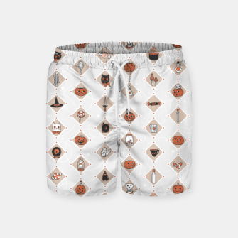 Thumbnail image of Halloween Party Night Secret Ingredients Swim Shorts, Live Heroes