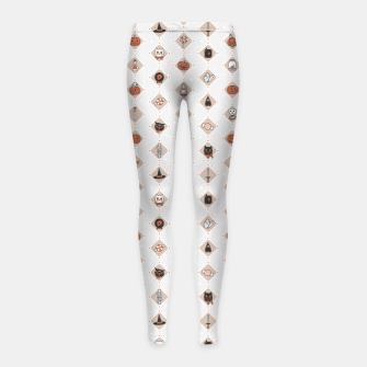 Thumbnail image of Halloween Party Night Secret Ingredients Girl's leggings, Live Heroes
