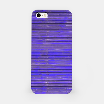 Blue Grunge Print iPhone Case thumbnail image