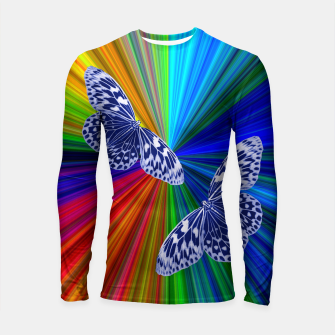 Thumbnail image of Let the fantasy free Longsleeve rashguard, Live Heroes